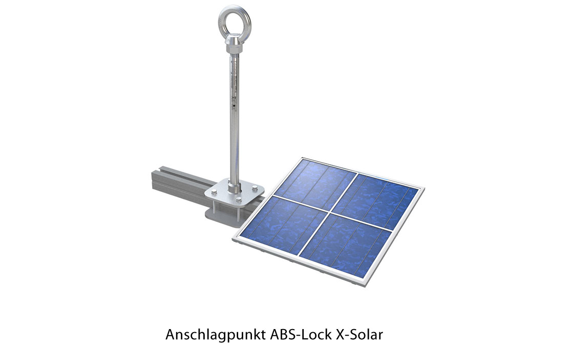 Anschlagpunkt-ABS-Lock-X-Solar
